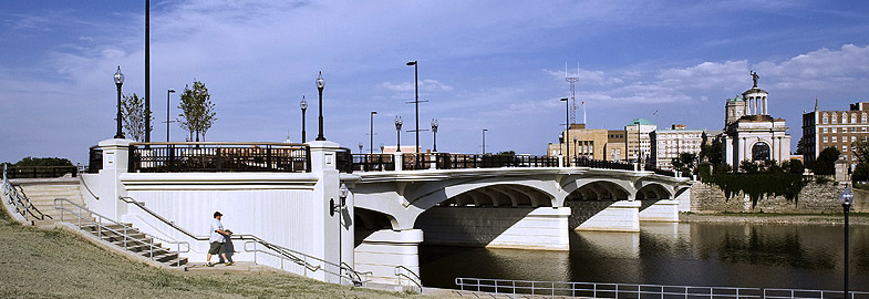 High Main Street Bridge over the Great Miami River