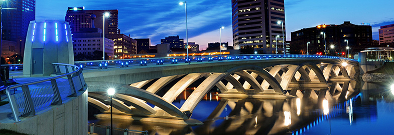 Rich Street Bridge over the Scioto River